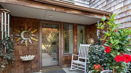 This two-bedroom, two-bathroom condo in Eastport is on