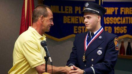 Kyle J. Reitan, First Lieutenant, Miller Place EMS