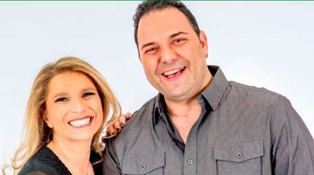 Anna Zap and Jay Raven host WALK-FM 97.5's