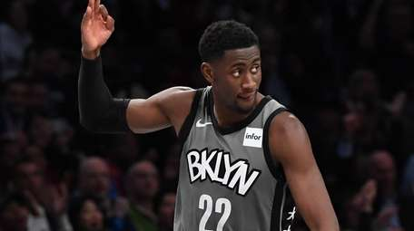 Coach Kenny Atkinson suggested he might use Caris