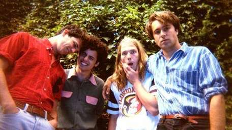 The Vaccines -- (l. to r.) Pete Robertson,