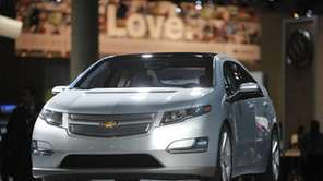 A file photo of the Chevrolet Volt, manufactured