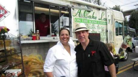 Gail and Steven Chandler, owners of A Cake