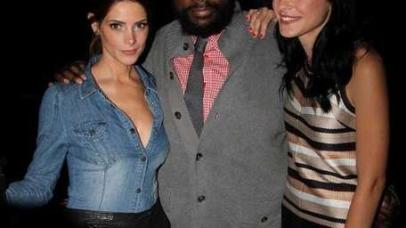 Ashley Greene, Questlove and Jessica Stam