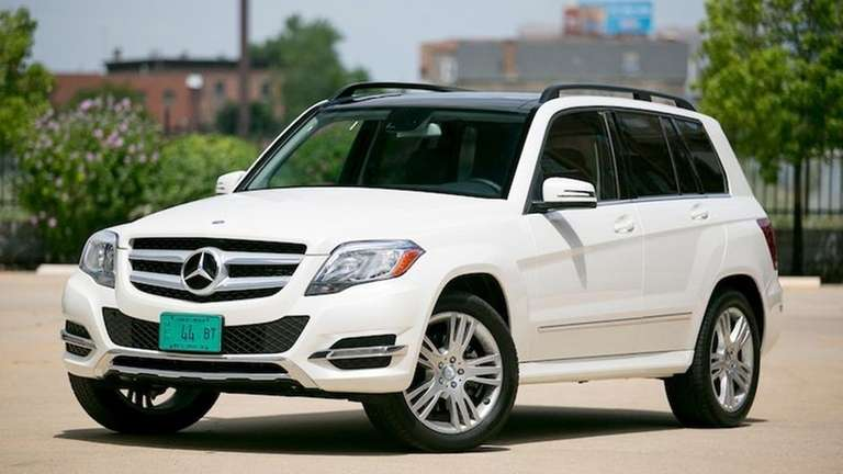 2013 mercedes benz glk350 popular with buyers newsday. Black Bedroom Furniture Sets. Home Design Ideas
