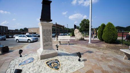 9/11 memorial at Commack High School, Commack. (Sept.