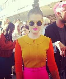 Kelly Osbourne at the Chris Benz New York