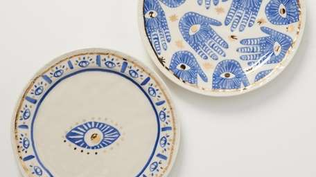 "Just desserts: Artfully hand-painted dessert plates feature ""Classic"