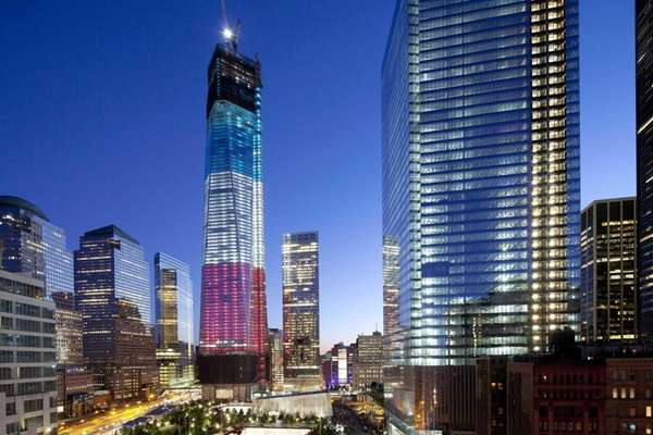 1 World Trade Center, left, the National September