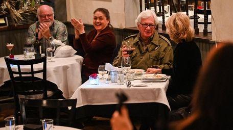 Alan and Dawn Kisner (right table) of Huntington