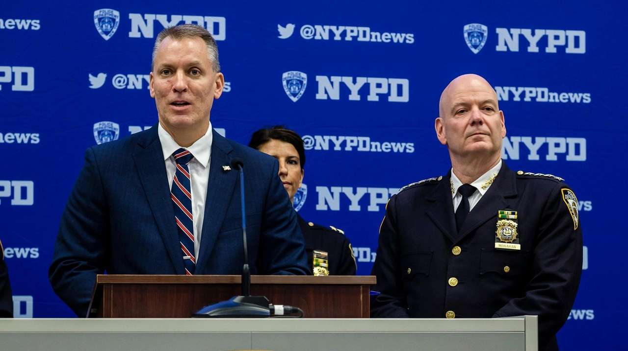 NYPD officials discuss Times Square New Year's Eve