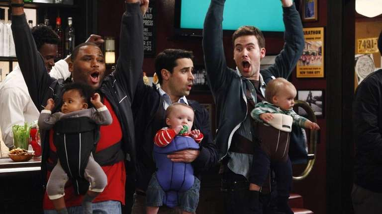 Anthony Anderson, left, as Gary, Jesse Bradford as