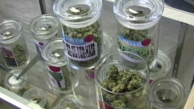 An undated file photo of medical marijuana.