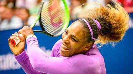 Serena Williams of America Bianca Andreescu of Canada