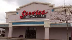 Service Merchandise in the Huntington Shopping Center on