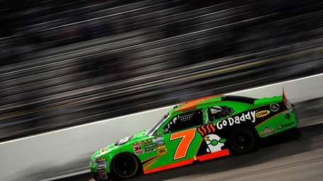 Danica Patrick, driver of the #7 GoDaddy.com Chevrolet,
