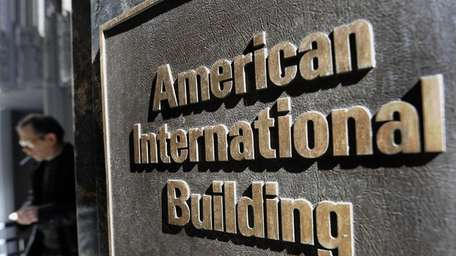 The Pine Street headquarters of American International Group