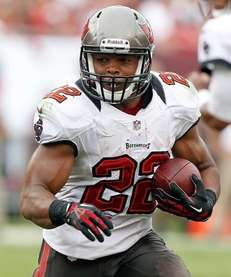 Tampa Bay running back Doug Martin had 95