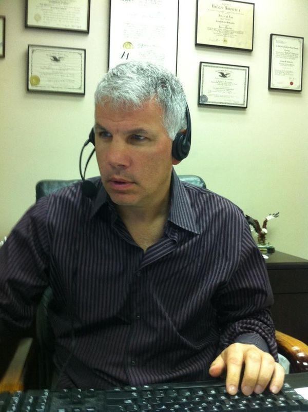 Joe DeGuardia back at work after serious car