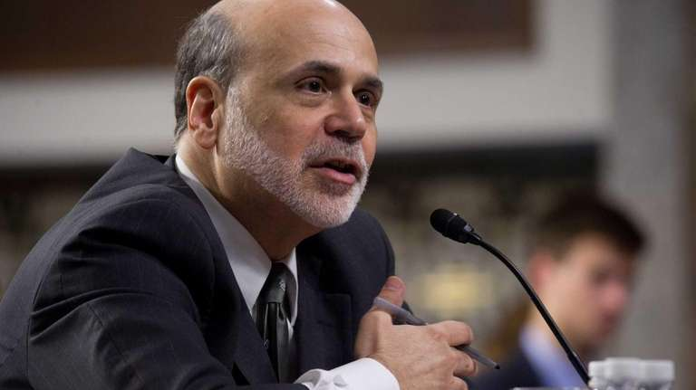 U.S. Federal Reserve Board Chairman Ben Bernanke testifies