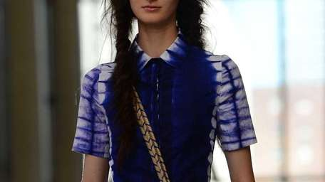 At the Tory Burch Spring 2013 show, there