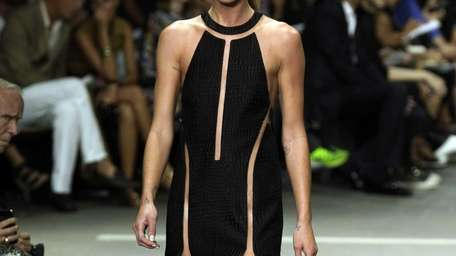 The Alexander Wang Spring 2013 collection is modeled