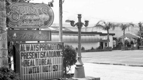 J. Sprats nightclub at 80 Waterfront Blvd. in