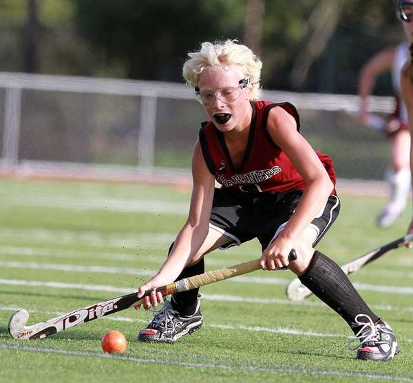 Southampton field hockey player Keeling Pilaro looks to