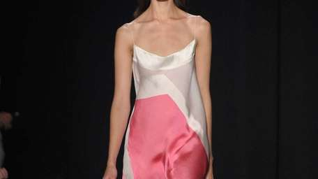 Some dresses at the Narciso Rodriguez Spring 2013