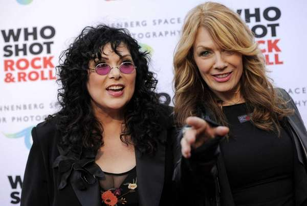 Ann and Nancy Wilson of Heart will be