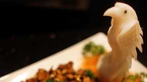 Tao's kung pao chicken, made with dark meat,