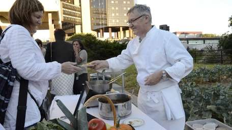 Chef Guy Rouge, of restaurants Mirabelle and Mirabelle