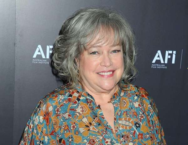 Actress Kathy Bates arrives at the Australian Academy