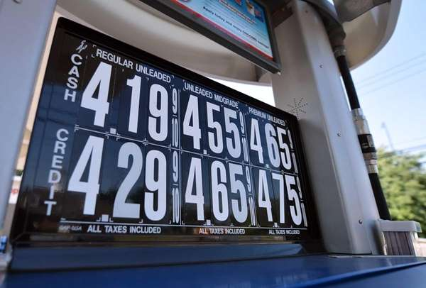 A temporary shortage as summer grade gasoline is