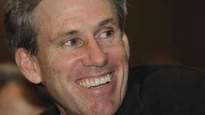 U.S. envoy Chris Stevens attends meetings at the