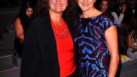 Aida Turturro and Edie Falco attend the Nanette