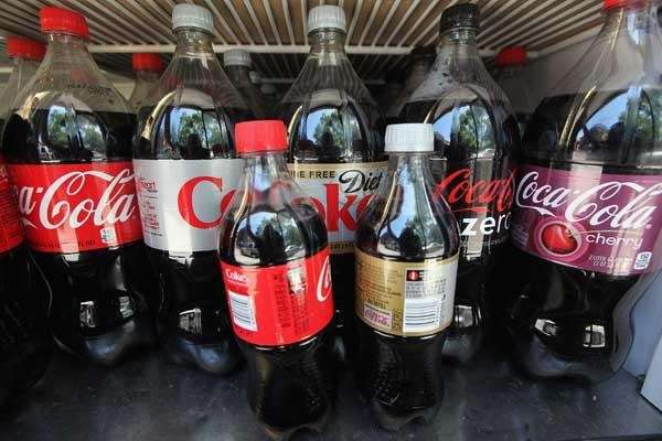 Soda bottles like these, when sold at convenience
