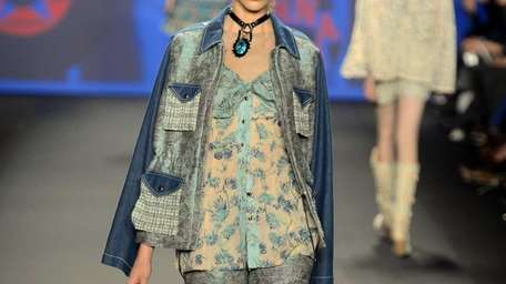 The Anna Sui girl of seasons past —