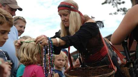 The Harvest and Seafood Festival takes place at