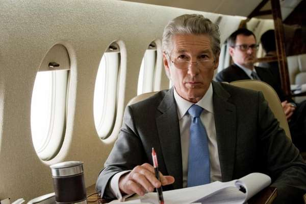 "Richard Gere in a scene from ""Arbitrage."""