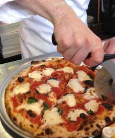 At Love Lane Market in Mattituck, Margherita pizza