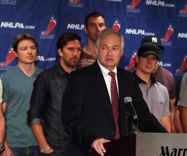 Don Fehr, executive director of the National Hockey