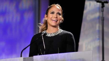 Jennifer Lopez speaks at the 29th Annual Walter