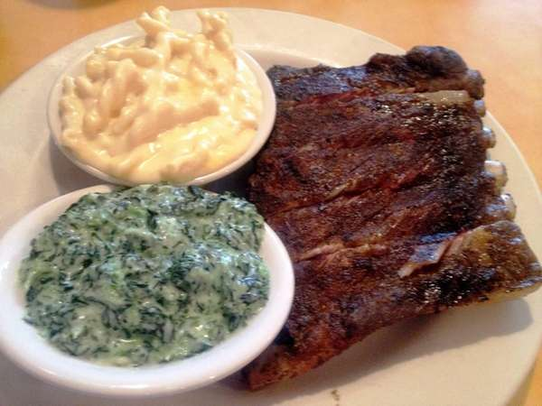 These are the barbecue St. Louis ribs with