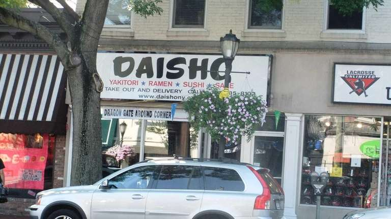 This is the new Daisho in Huntington. (Sept,