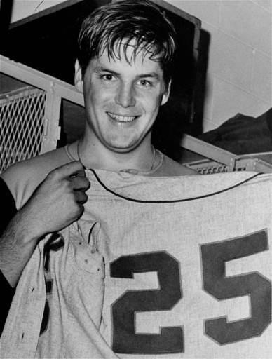 TOM SEAVER, 1969 25-7, 2.21 ERA, 208 strikeouts