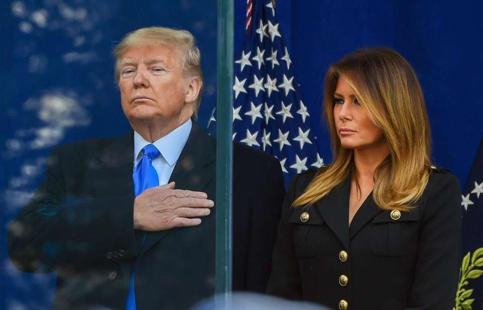 President Donald J. Trump and First lady Melania