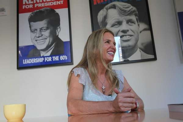 Kerry Kennedy speaks about her childhood and her