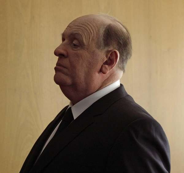 "Sir Anthony Hopkins as Alfred Hitchcock in ""Hitchcock"""