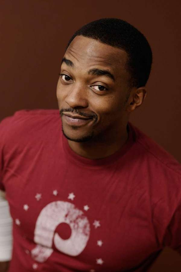 Actor Anthony Mackie poses for a portrait during